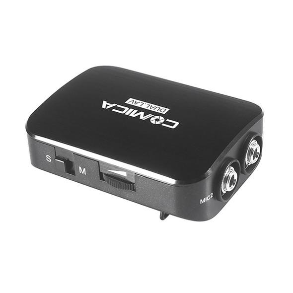 Comica CVM-D03 Dual-head Lavalier Microphone 多功能監聽雙頭夾咪呔咪