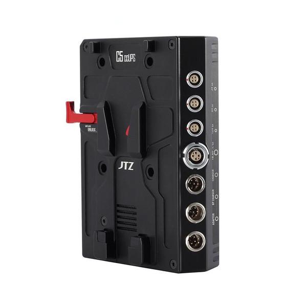 JTZ DP30 C5 CCUPS V型多功能供電電池板 (15mm / 19mm導軌桿夾可用18650電池)