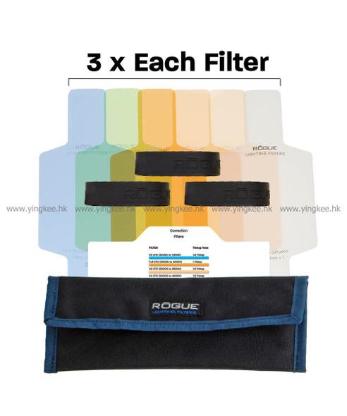 美國Rogue Color Correction Filter Kit閃光燈校正色片Gel紙套装