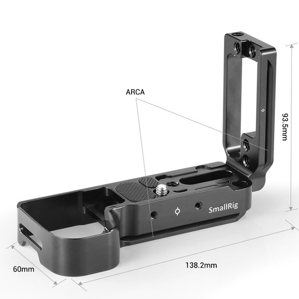 SmallRig L-plate L-Bracket for Sony A7III/A7M3/A7RIII/A9 2122B