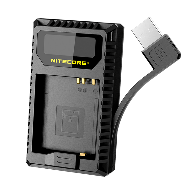 Nitecore UL109 Leica BP-DC15-E USB 雙位電池充電座