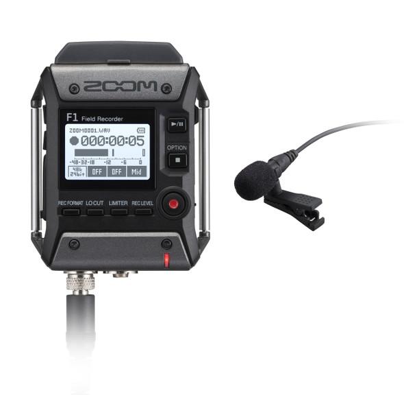 Zoom F1-LP Field Recorder + Lavalier MIc 數碼錄音機