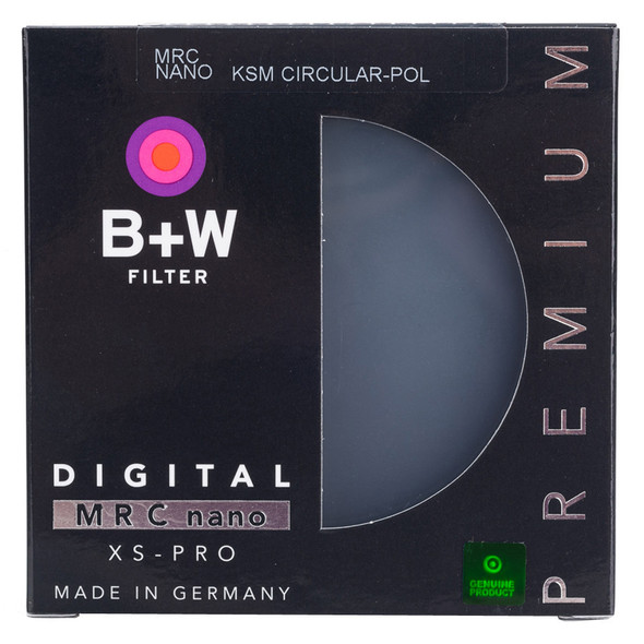 B+W XS-PRO MRC 2 nano KSM CPL Filter超薄多膜偏光鏡39mm