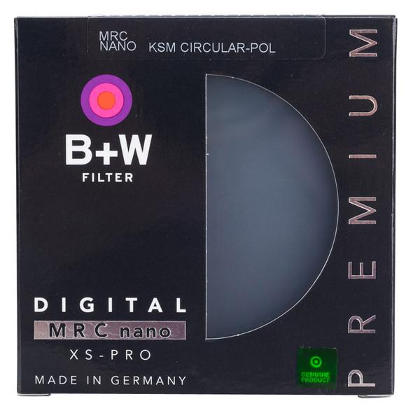 B+W XS-PRO MRC 2 nano KSM CPL Filter超薄多膜偏光鏡43mm