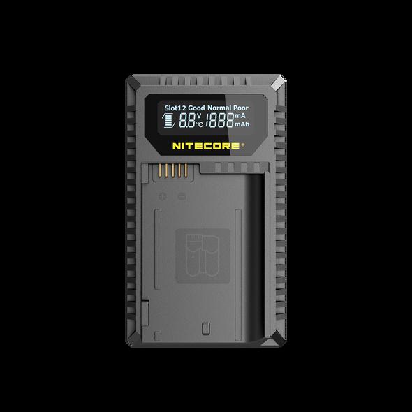 Nitecore UNK2 EN-EL15 D850 D7500 V1 USB 雙位電池充電座