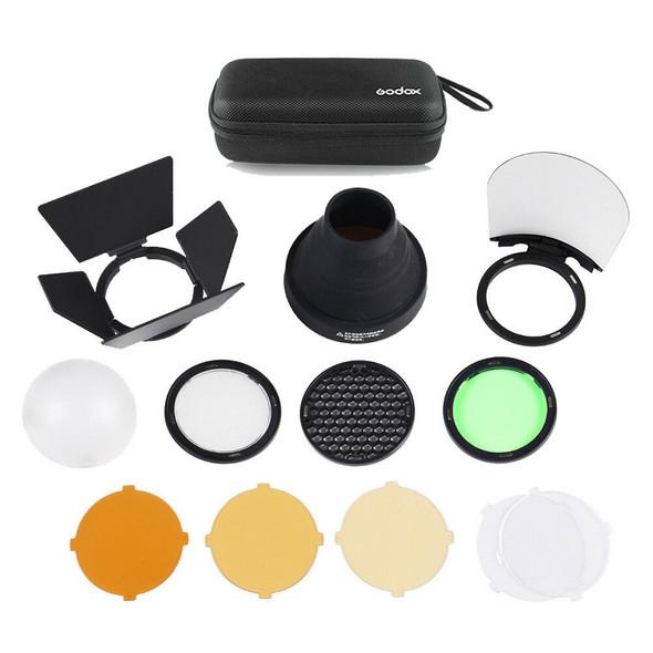 Godox 神牛 AK-R1  V1 AD200 圓形燈頭磁力附件套裝