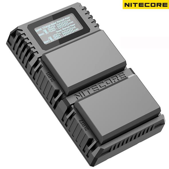 Nitecore ULM10 Pro Leica M10 BP-SCL5 USB 雙位電池充電座