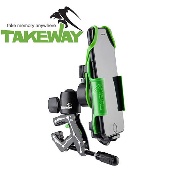 TakeWay R2 智能電話支撐夾連雲台套裝