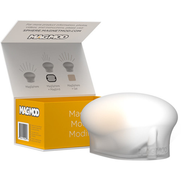 MagMod MagSphere 閃光燈磁力矽膠柔光球