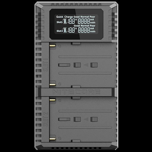 Nitecore USN3 Pro USB Sony NP-F 雙位電池充電座