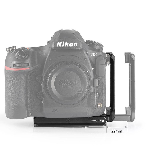 SmallRig L-Bracket for Nikon D850 2232