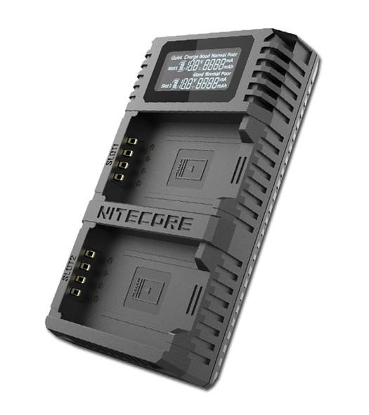 Nitecore FX2 Pro Fujifilm NP-T125 USB 雙位電池充電座