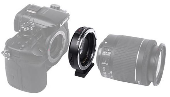 Viltrox EF-M2 II 自動對焦轉接環0.71x 增大光圈內置光學鏡片Canon EF鏡頭轉接至M43相機