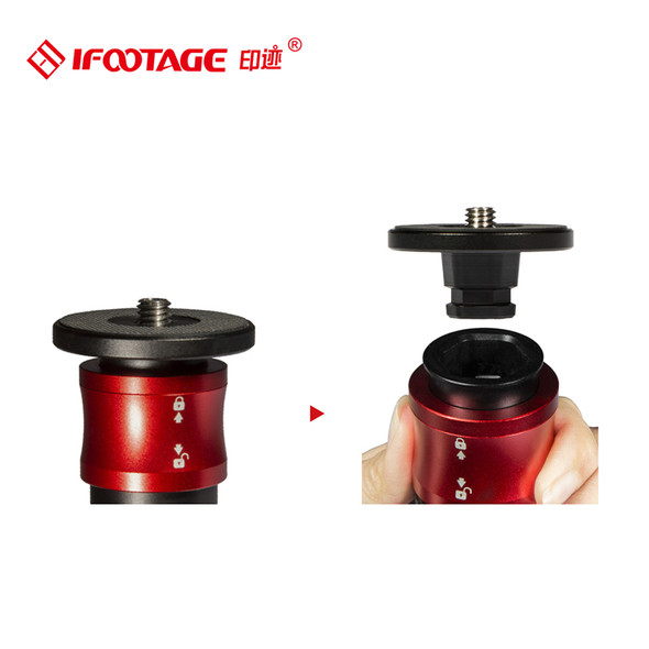 iFootage Cobra 2 眼鏡蛇 Monopod A150S II + K5