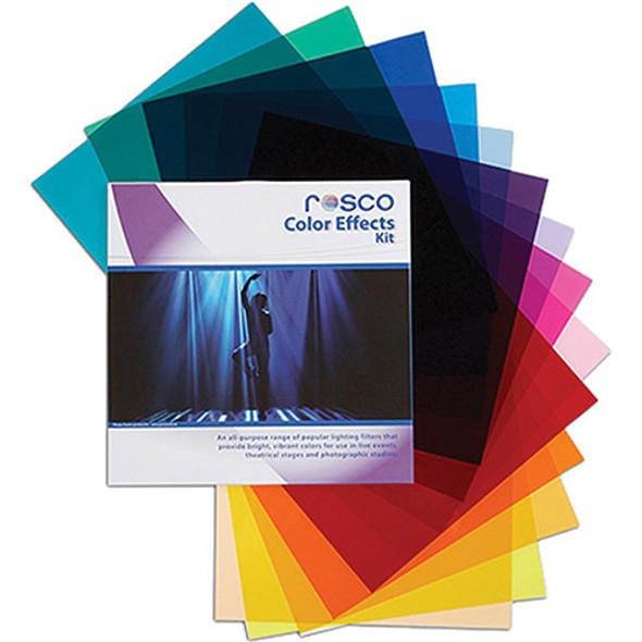 "Rosco Color Effects Filter Kit (12 x 12"")  閃光燈濾色片Gel紙套装"