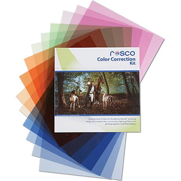 "Rosco Color Correction Filter Kit (12 x 12"")  閃光燈校正色片 Gel紙套装"