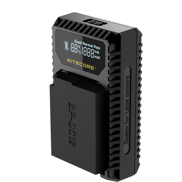 NITECORE ULQ USB Travel Charger for Leica BP-DC12