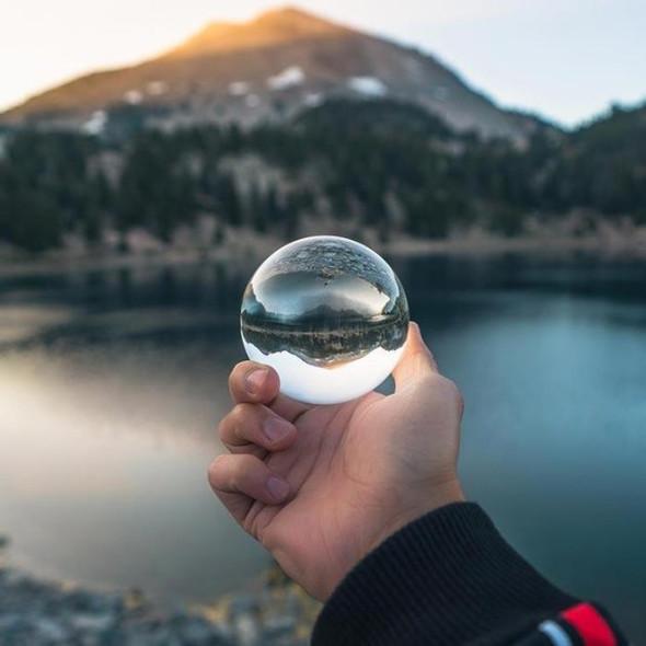 荷蘭 Lensball Small 水晶玻璃球濾鏡 80mm