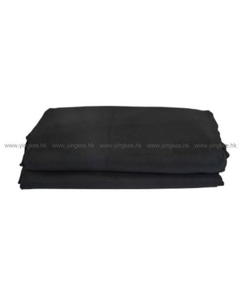 3m x 6m 棉質背景布 黑色 black
