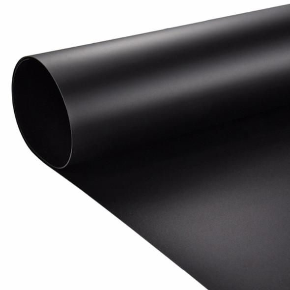 攝影用塑膠背景啞面 PVC (黑色) 1m x 2m