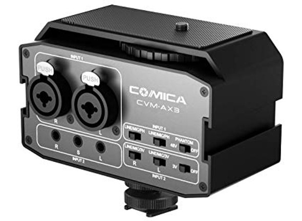 Comica CVM-AX3 Audio Mixer Adapter