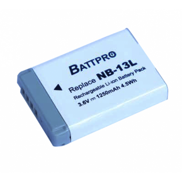Battpro NB-13L Battery for Canon PowerShot G1 G9 G7 G5