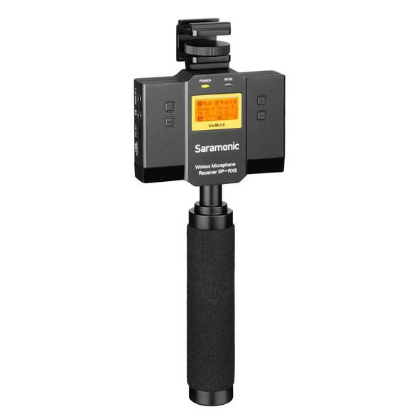 Saramonic UwMic9-HK SP-RX9 Dual UHF Wireless Receiver with Mixer 電話無線咪接收
