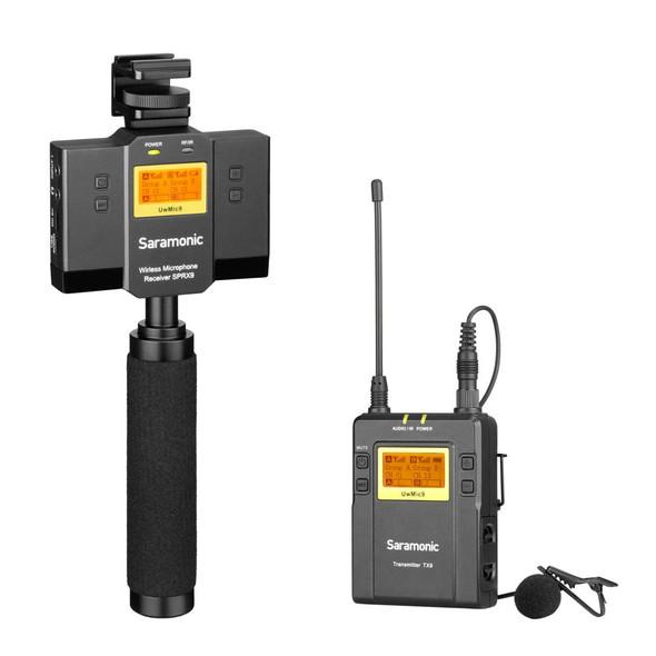 Saramonic UwMic9-HK kit12 一對一電話無線領夾收音咪