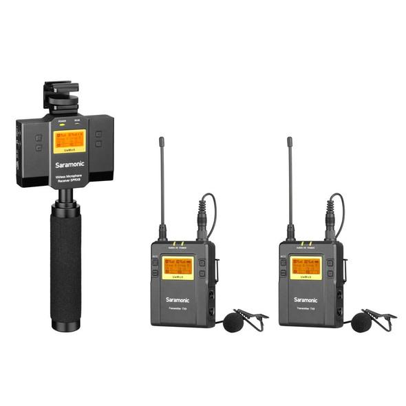 Saramonic UwMic9-HK kit13 一對二電話無線領夾收音咪