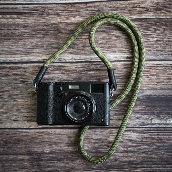 A-MoDe Rope Camera Strap Green 法國Beal 登山繩 120cm