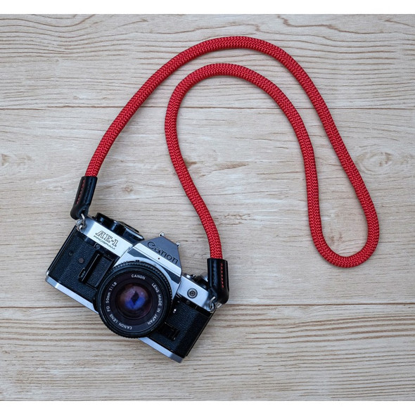 A-MoDe Rope Camera Strap Red 法國Beal 登山繩 120cm