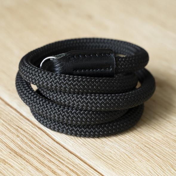 A-MoDe Rope Camera Strap Black 法國Beal 登山繩 120cm