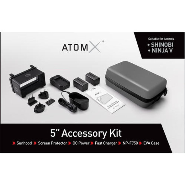 "Atomos 5"" Accessory kit 配件套裝包 For Shinobi & Ninja V"