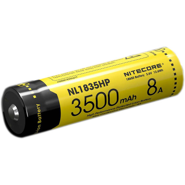 Nitecore NL1835HP 3500mAh 3.6V 8A 18650 高放電有保護鋰電池