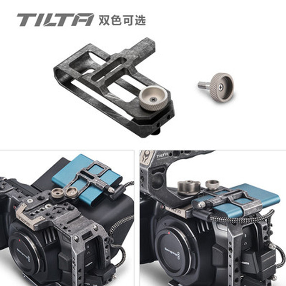 Tilta 鐵頭 TA-SSDH-T5-G BMPCC 4K SSD-T5 Holder Tactical Gray