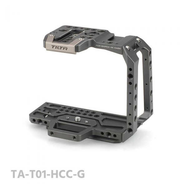 Tilta 鐵頭 TA-T01-HCC Half Cage BMPCC 4K/6K 戰術套籠 Tactical Gray