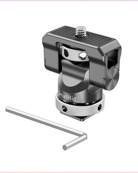 SmallRig Swivel and Tilt Monitor Mount with Cold Shoe BSE2346