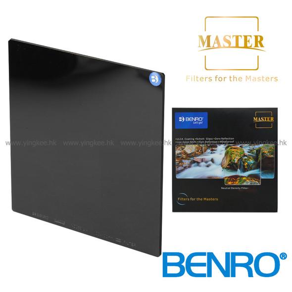 Benro Master ND1000 (3.0) 150mm Glass Filter 德國光學玻璃減光鏡