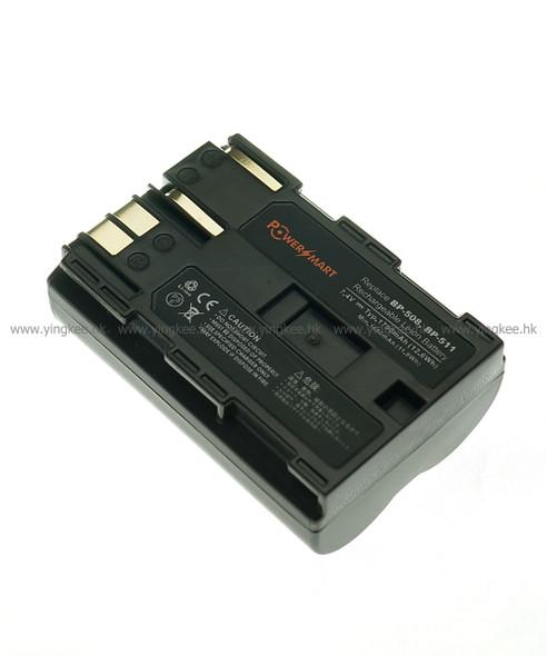 Powersmart VCN008 Canon BP-511 BP-512相機代用電池