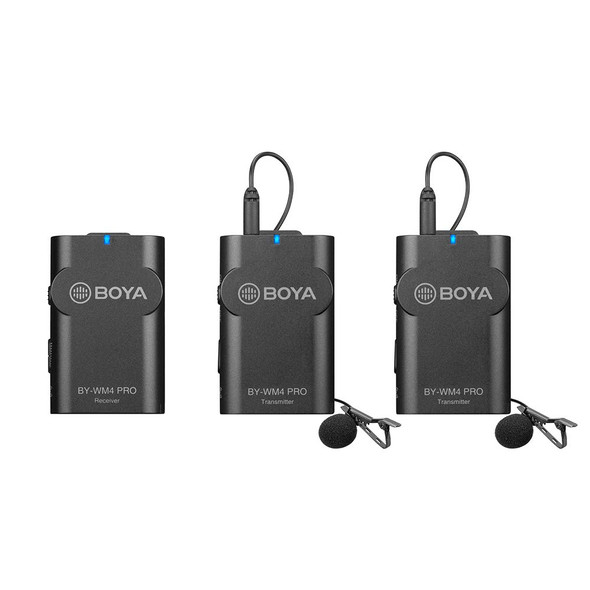 BOYA BY-WM4 Pro K2 Wireless Microphone 一開二無綫收音咪