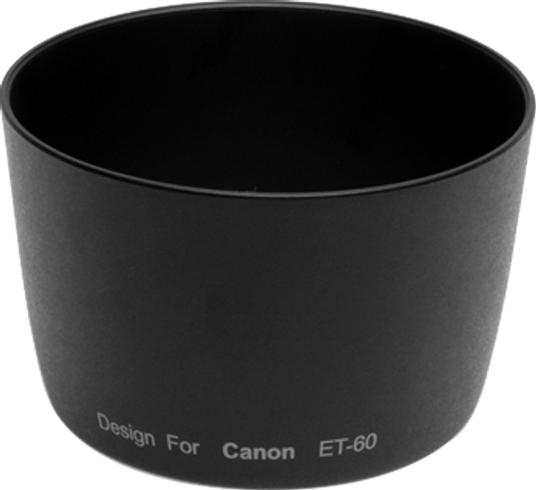OEM ET60 Hood for Canon EF-S 55-250mm f/4-5.6 IS、EF-S 55-250mm f/4-5.6 IS II