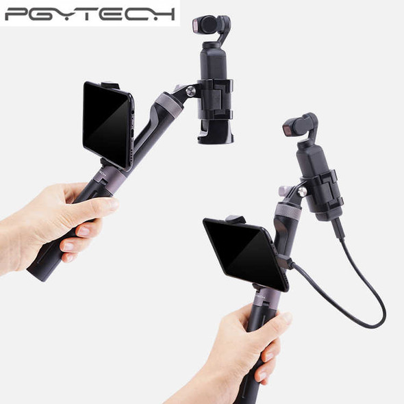 PGYTECH Hand Grip & Tripod For Gopro / Osmo Pocket