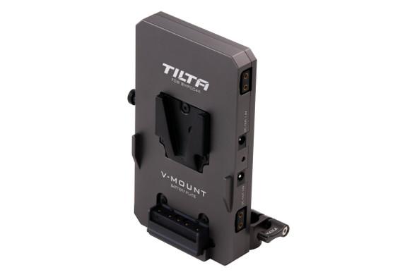 Tilta TA-BTP2-V-G V-Mount Battery Plate  BMPCC 4K/6K Tilta Gray