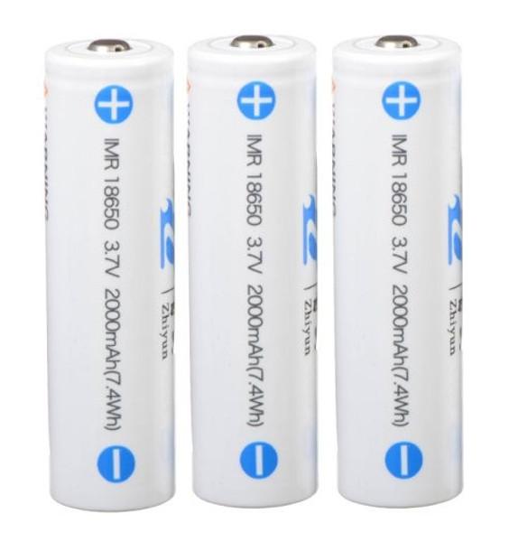 智雲 Zhiyun 鋰電池 ICR 18650 2000MAH 3.7V 三粒