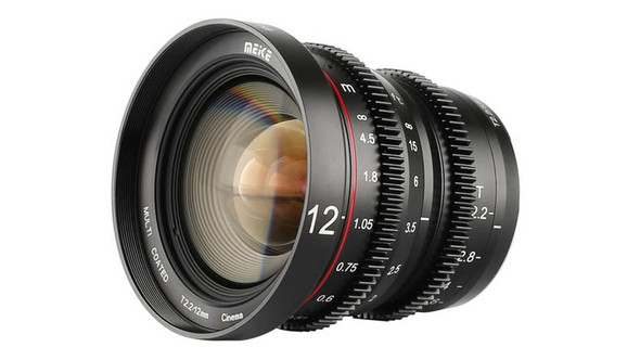 Meike 美科 MK-12mm T2.2 Manual Focus Cinema Lens 電影鏡頭 For MFT-mount