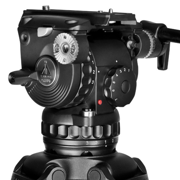 E-IMAGE GH10 75mm 專業油壓攝錄雲台