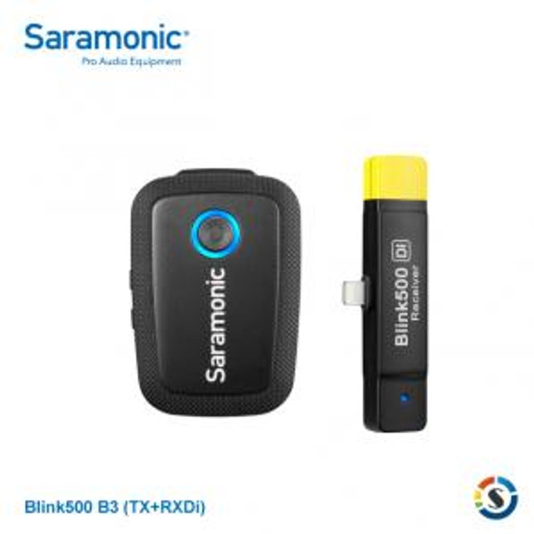 Saramonic Blink500 B3 2.4Ghz 一對一無線手機領夾咪 For Apple Lightning