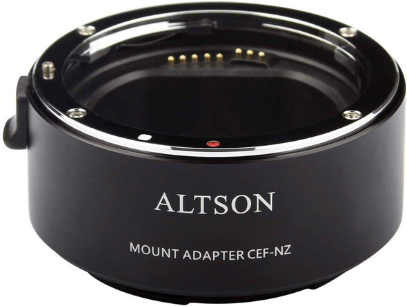 Altson CEF-NZ High speed Canon Lens to Nikon Z Body Auto-Focus Smart Adapter 高速自動對焦智能轉接環
