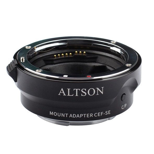 Altson CEF-SE High speed Canon Lens to Sony E-mount Body Auto-Focus Smart Adapter 高速自動對焦智能轉接環