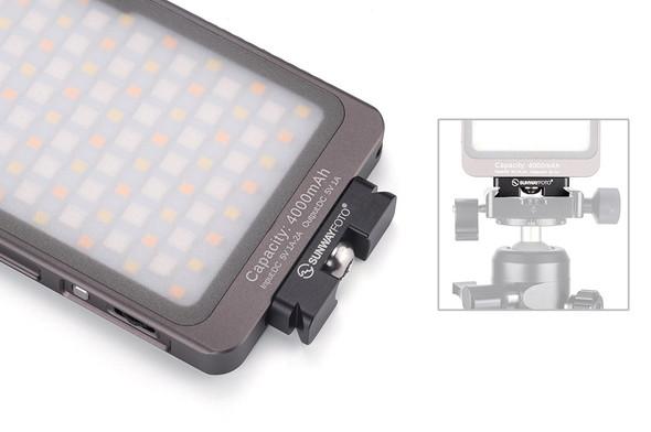 Sunwayfoto DP-12 LED用 ARCA快拆板